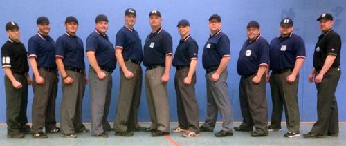 Teilnehmer A-Lehrgang-Schiedsrichter Baseball 2014
