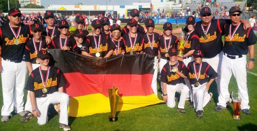 Deutschland Europameister U12 2016