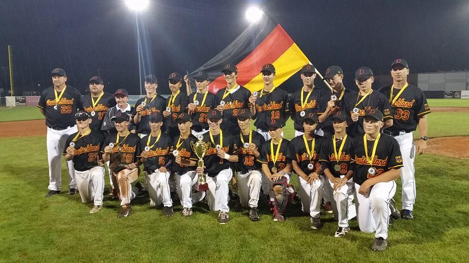 EM Brno Medaille U15 Baseball EM: Deutschland gewinnt erstmals Europameisterschaft