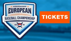 Tickets für die Europameisterschaft 2016 in Hoofddorp