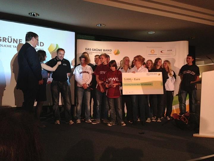 Wesseling Vermins Grünes Band Wesseling Vermins in Bonn mit Das Grüne Band ausgezeichnet