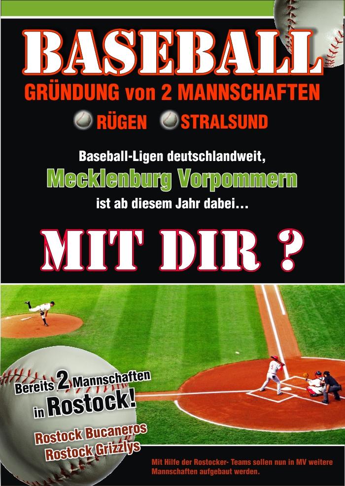 Spieler gesucht für Baseball auf Rügen - - DBV