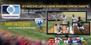 Livestream U15 Baseball World Cup