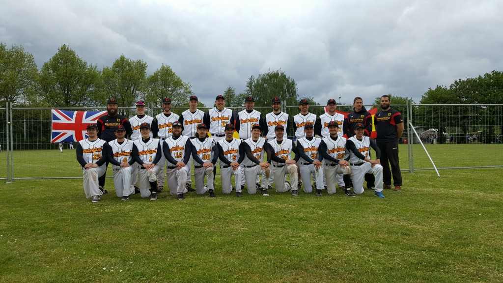 Die Herren-Fastpitch-Nationalmannschaft in Zeist