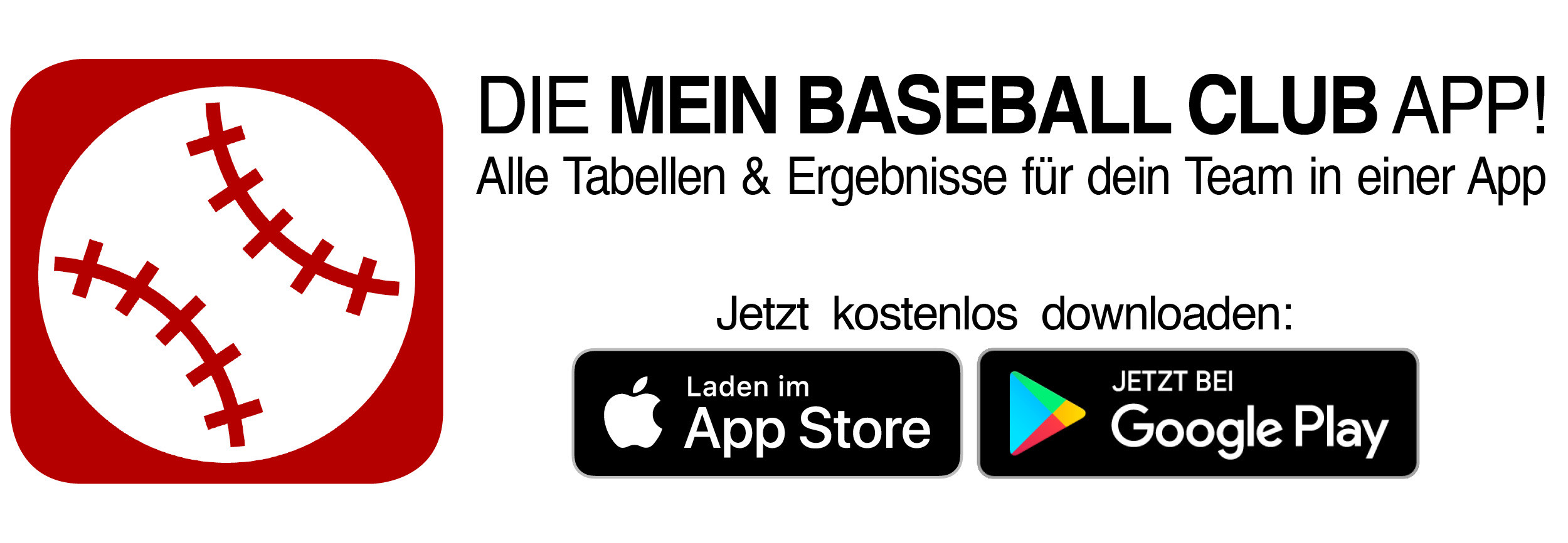 Mein Baseball Club App