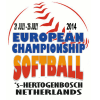 Juniorinnen Logo Softball EM