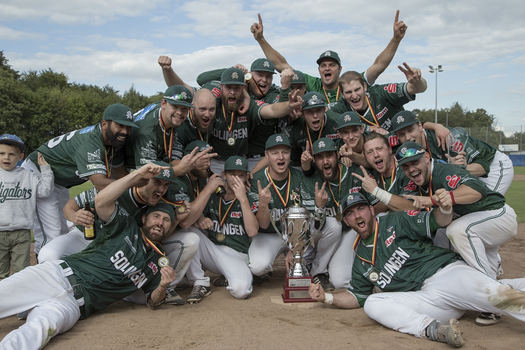 MH 1078 Solingen Alligators Deutscher Baseballmeister 2014