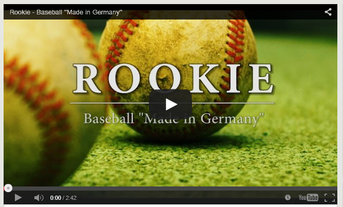 Rookie Baseball Made in Germany