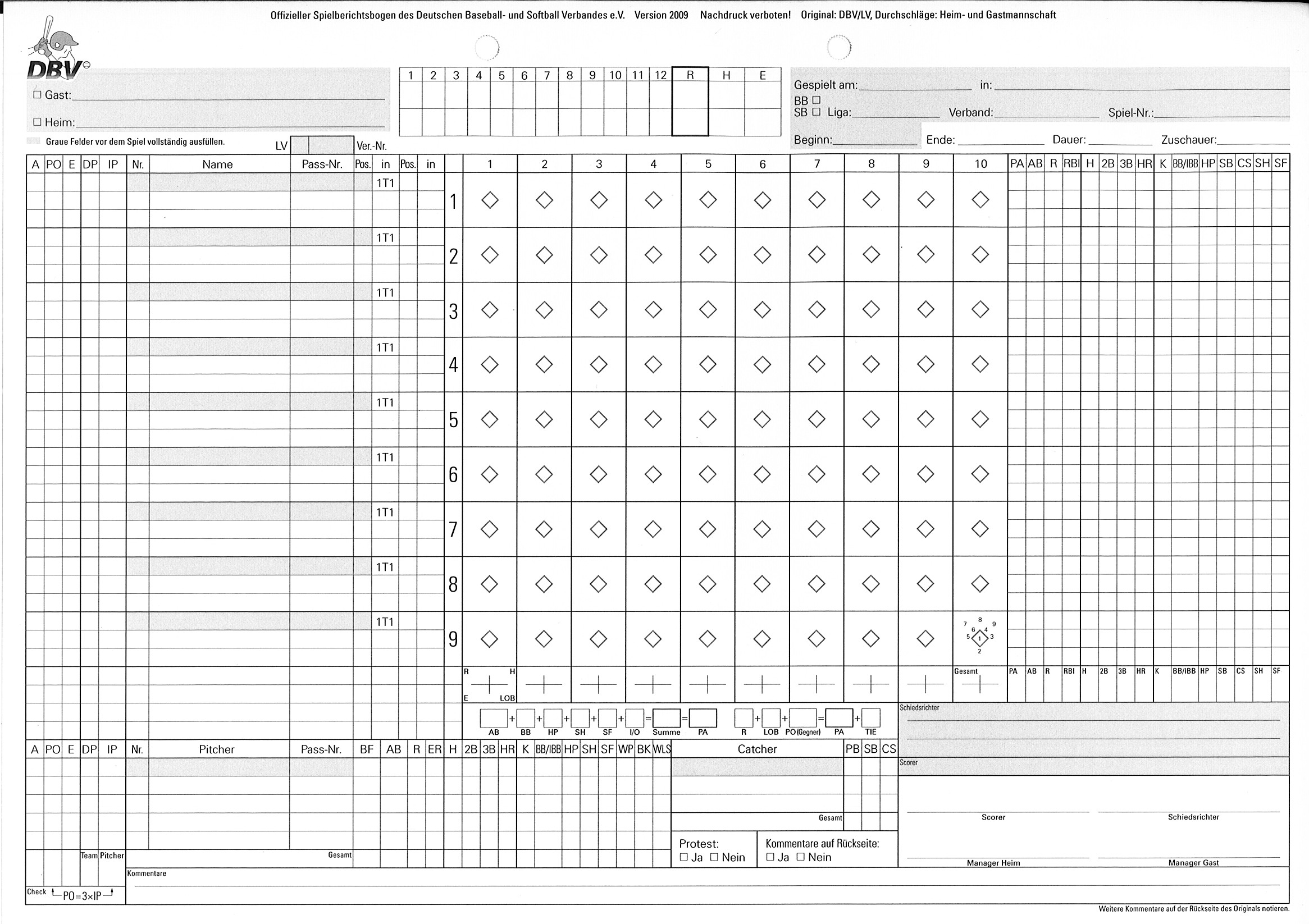 Copy Of A Basketball Score Sheet Pictures to Pin – Softball Score Sheet Template