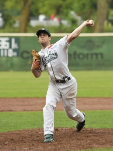 spieler der woche josh rickards 1 225x300 Best Pitcher: Josh Rickards (Solingen Alligators)